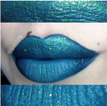Mashup of Wicked & Fountain Lust lip colors